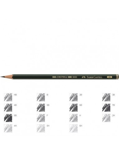 LAPICEROS FABER CASTELL 2MM 2B