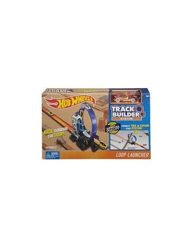 HOT WHEELS TRACK AND BUILDER PROPULSORES+COCHE
