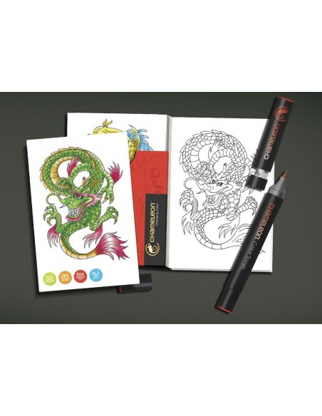 chameleon color cards  TATTOO CC0104